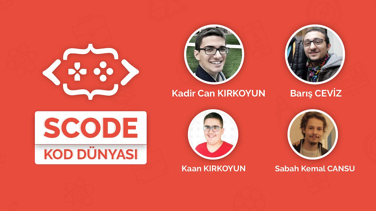 SosyalUp Röportaj: Kadir Can Kırkoyun, Scode