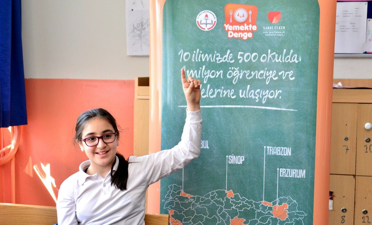 Yemekte Denge Eğitim Projesi yılın en başarılı sosyal projesi seçildi