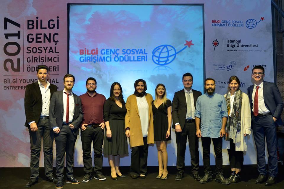 2017 Bilgi Genç Sosyal Girişimci Ödülleri sahiplerini buldu