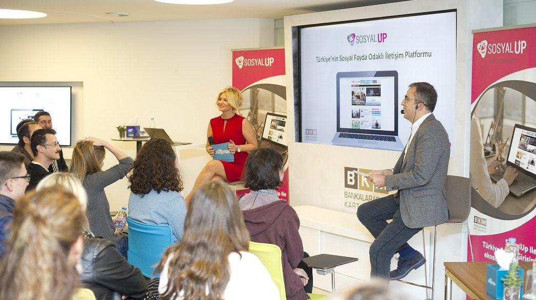 Sosyal girişimlerin iletişim platformu SosyalUp tanıtıldı