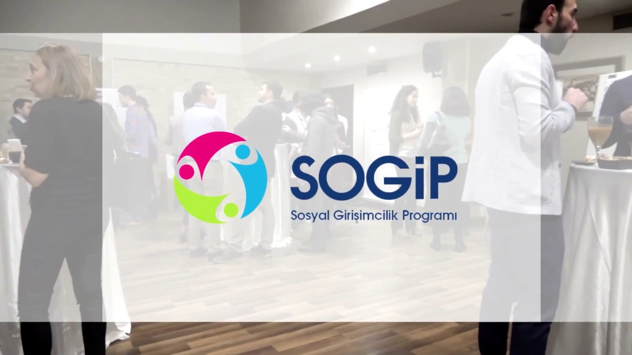 Sosyal Girişimcilik Programı (SoGİP)'nın mezuniyet heyecanı