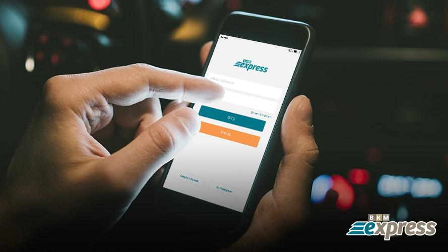 BKM Express mobil cüzdan ve Bağış işlemleri
