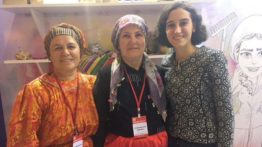İyimser Abla, kadın kooperatifleri ve kurumsal şirketler arasında köprü kuruyor