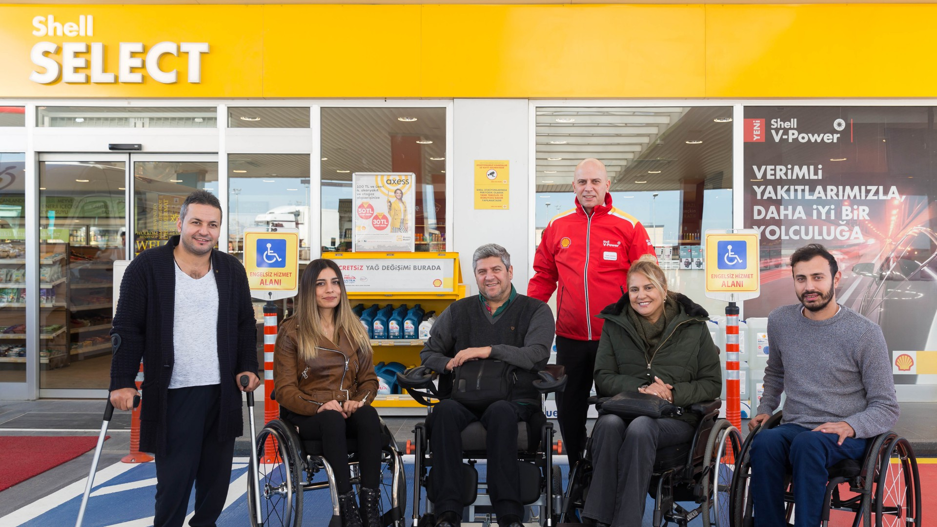 """Shell & Turcas'ın """"Engelsiz Hizmet Alanı"""" Sayısı 500 İstasyona Ulaştı"""