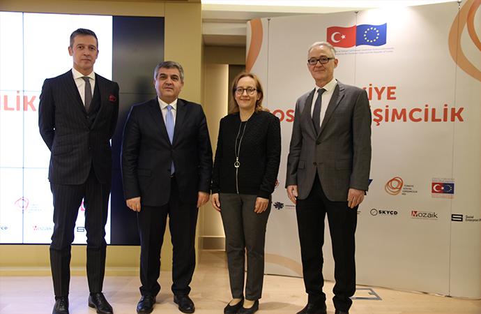 Türkiye'nin Sosyal Girişimcilik Ağı Vehbi Koç Vakfı ve Avrupa Birliği Başkanlığı iş birliğinde kuruluyor