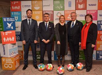 """TÜRKONFED, TÜSİAD ve UNDP öncülüğünde, """"Hedefler İçin İş Dünyası Platformu"""" kuruldu"""
