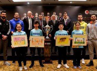 TBF Erkekler Türkiye Kupası'nda TEGV'li çocukları misafir ediyor
