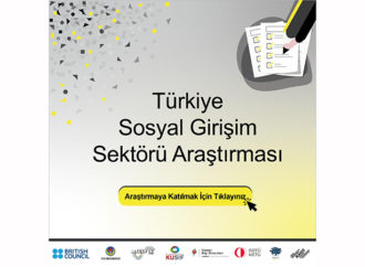 Türkiye Sosyal Girişim Sektörü Araştırması başladı