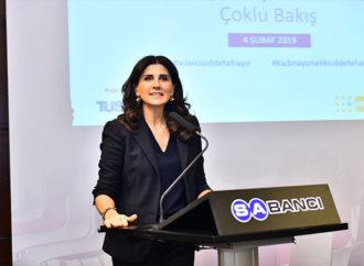 Kadına yönelik şiddetle mücadelede şirketlerin rolü ele alındı