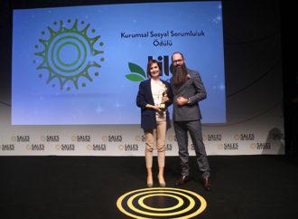Yılın Kurumsal Sosyal Sorumluluk Ödülü'nün sahibi Lila Group oldu
