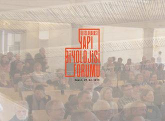 Uluslararası Yapı Biyolojisi Forumu 27 Nisan'da İzmir'de düzenleniyor
