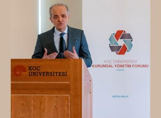 Koç Üniversitesi Kurumsal Yönetim Deneyimi ve Sürdürülebilir Kalkınma Konferansı'na ev sahipliği yaptı