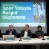 Spor Yoluyla Sosyal Güçlenme etkinliğinde yeni proje fikirleri üretildi