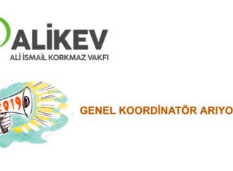 ALİKEV Genel Koordinatör arıyor