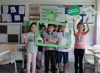 Mardinli çocuklar Garanti ile Geleceği Kodla'dı