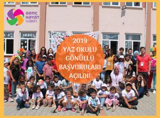 Genç Hayat Vakfı Yaz Okulu gönüllülerini arıyor