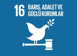 Sürdürülebilir Kalkınma Hedefleri 16: Barış, Adalet ve Güçlü Kurumlar