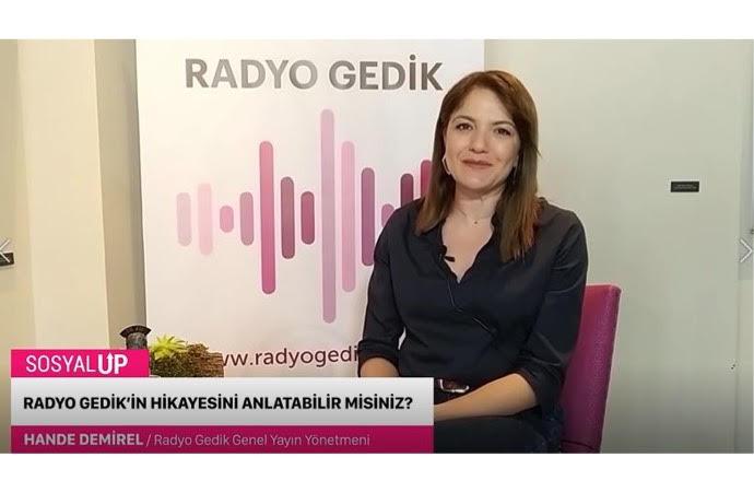 Türkiye'nin ilk kurumsal internet radyosu: Radyo Gedik