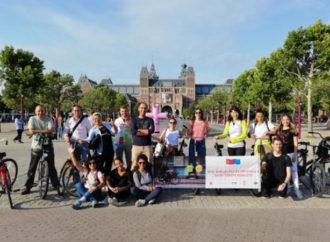 Türkiye'den Hollanda'ya bisiklet çıkarması