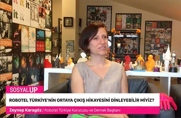 Türkiye'nin yardım eli Robotel Türkiye kurucusu: Zeynep Karagöz