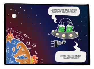 Haftanın Karikatürü-25 Eylül 2019