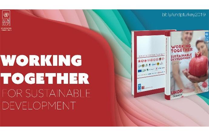 UNDP Türkiye'nin faaliyet raporu dijitalde