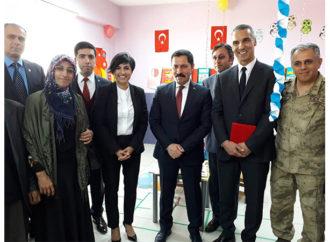 Otizmli çocukların yeni özel sınıfı Ardahan'da açıldı
