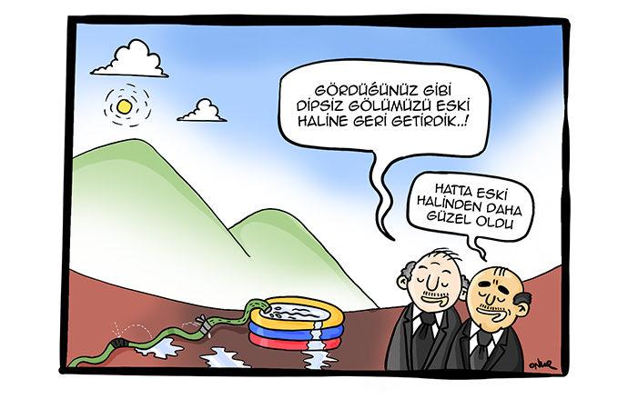 Haftanın Karikatürü – 25 Kasım 2019