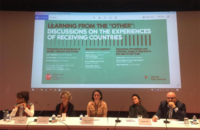 Göç sorunu Bilgi Üniversitesi'ndeki etkinlikte ele alındı