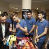 Bağışçılar destek verdikleri öğrencilerle buluştu