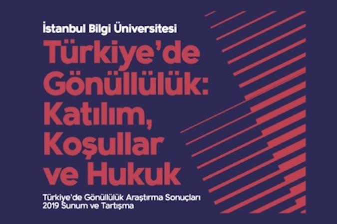 Türkiye'de Gönüllülük Araştırması sonuçları açıklandı