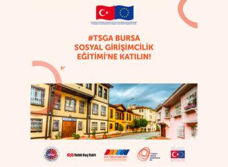 TSGA'dan Bursa'da sosyal girişimcilik eğitimi