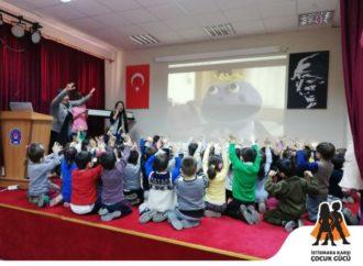 """""""İstismara Karşı Çocuk Gücü"""" projesinin ilk eğitimleri başladı"""