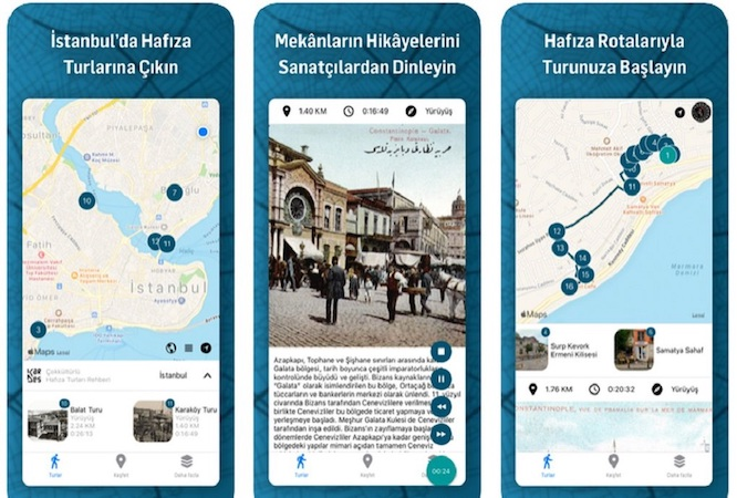 KarDes mobil uygulamasıyla İstanbul'u keşfedin