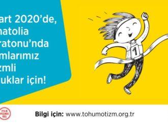 Tohum Otizm Vakfı'ndan Runatolia Maratonu için çağrı