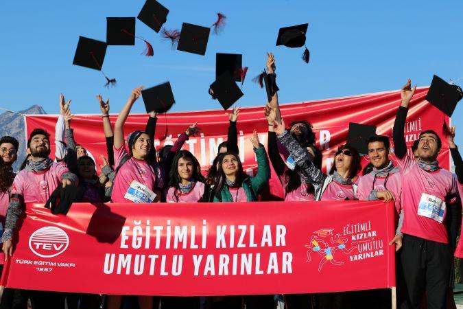 """""""Eğitimli Kızlar Umutlu Yarınlar'' bağışı 1 milyon TL'yi geçti"""