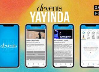 UNDP Türkiye'nin mobil uygulaması Devents yayında