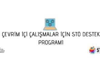Çevrim İçi Çalışmalar için STÖ Destek Programı başlıyor