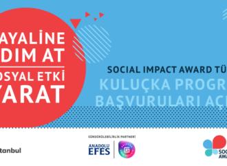 """""""Social Impact Award Türkiye"""" başvuruları açıldı"""