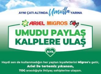 Ariel, Migros ve TOG binlerce çocuğa kıyafet desteği sağlıyor