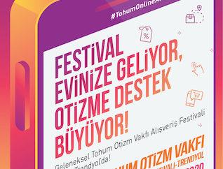 Gelenekselleşen Tohum Otizm Vakfı Alışveriş Festivali Trendyol'da