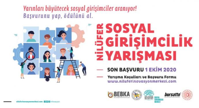 Nilüfer Sosyal Girişimcilik Yarışması'na başvurular başladı
