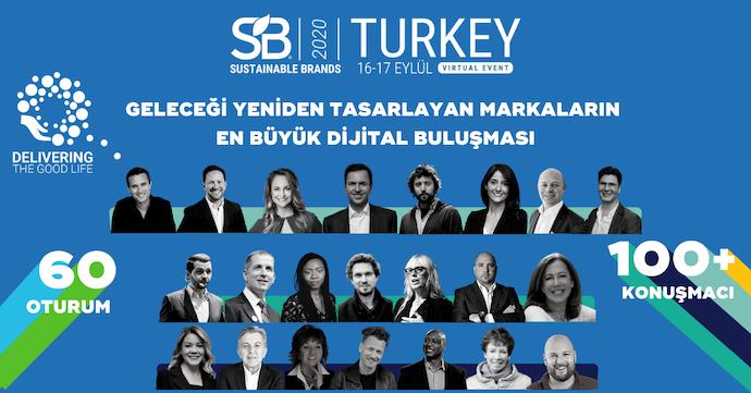 Değişimi yöneten liderler Sustainable Brands Turkey 2020'de 'online' buluşuyor