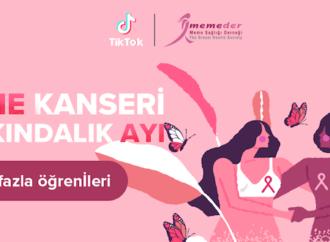 TikTok ve MEMEDER'den meme kanseri için farkındalık çalışması