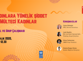 UNDP, mülteci kadınlara yönelik hane içi şiddeti ve şiddetten korunma mekanizmalarını konuştu