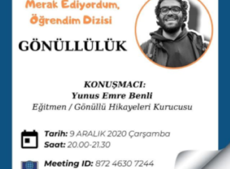 """""""Türkiye gönüllülükte 162 ülke arasından son 10 sırada"""""""