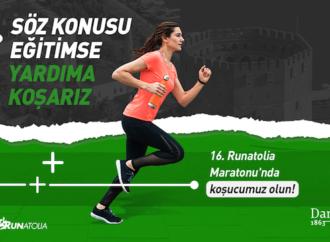 Darüşşafaka Cemiyeti Runatolia Maratonu'nda koşacak gönüller arıyor
