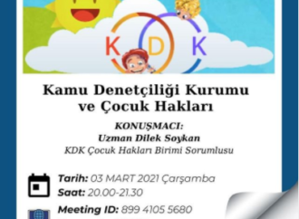 """""""Kamu Denetçiliği Kurumu, Türkiye'de 18 yaş ve altı çocuklardan başvuru alan tek kurum"""""""