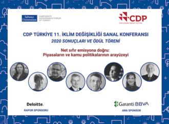 CDP, Türkiye'nin İklim Değişikliği ve Su Programı 2020 sonuçlarını ve lider şirketlerini açıkladı