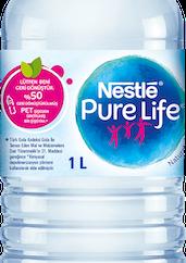 Nestlé Pure Life'tan yüzde 50'si geri dönüştürülmüş malzemeden üretilen çevre dostu şişe